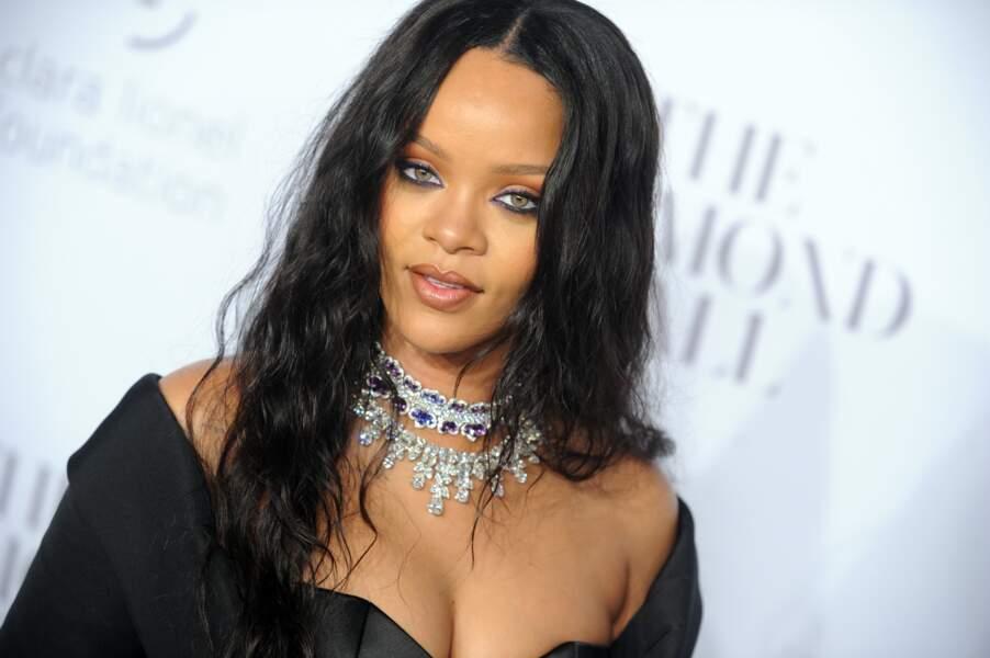 Rihanna à la soirée Diamond Ball à New York le 14 septembre 2017