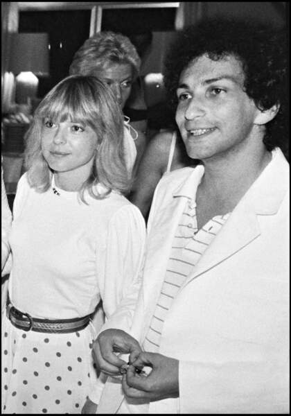 France Gall et Michel Berger à une soirée blanche chez Eddie Barclay