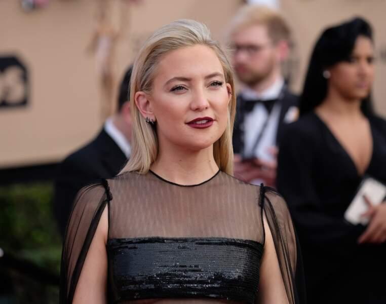 Kate Hudson aux Screen Actors Guild Awards à Los Angeles le 29 janvier 2017