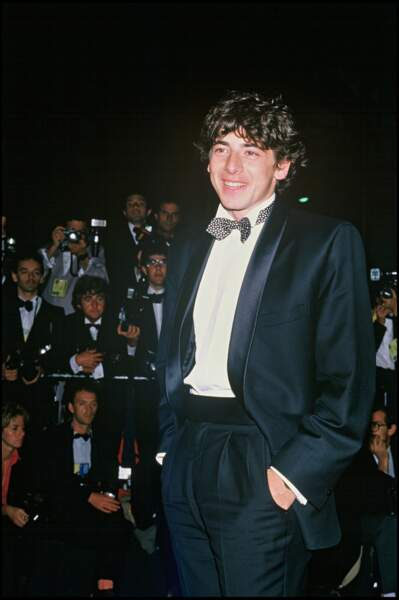 Patrick Bruel au festival de Cannes, en 1986