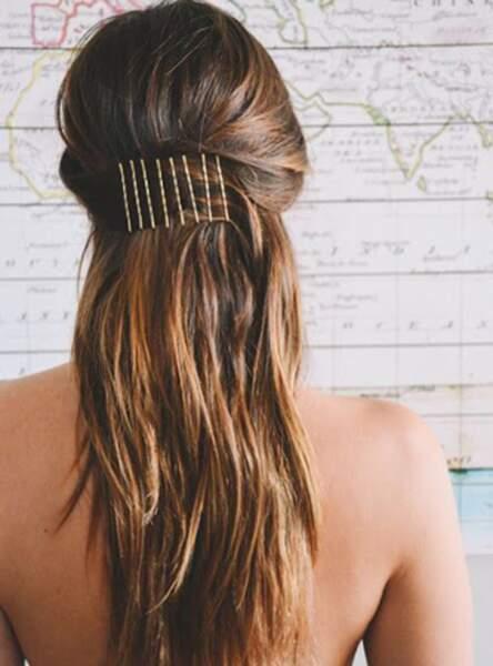 La bobby pins, nouveau bijou de cheveux