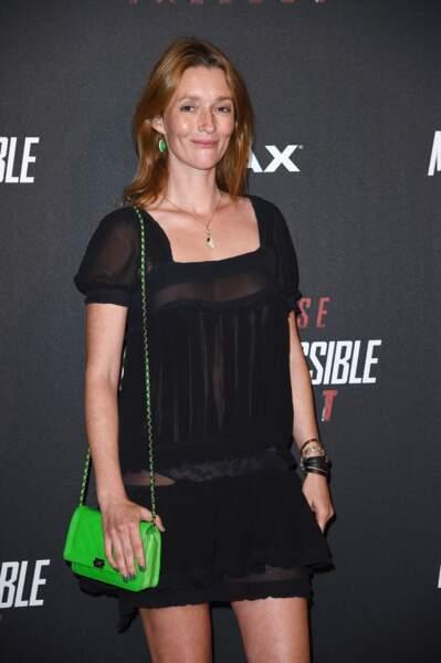 """L'actrice Audrey Marney était également là pour voir """"Mission : Impossible - Fallout""""."""