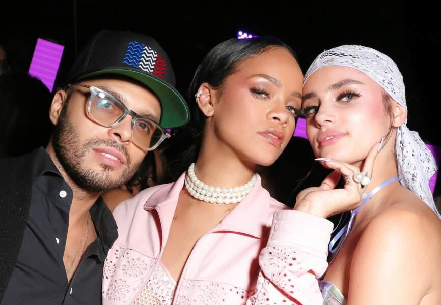 Rihanna, Taylor Hill, Richie Akiva