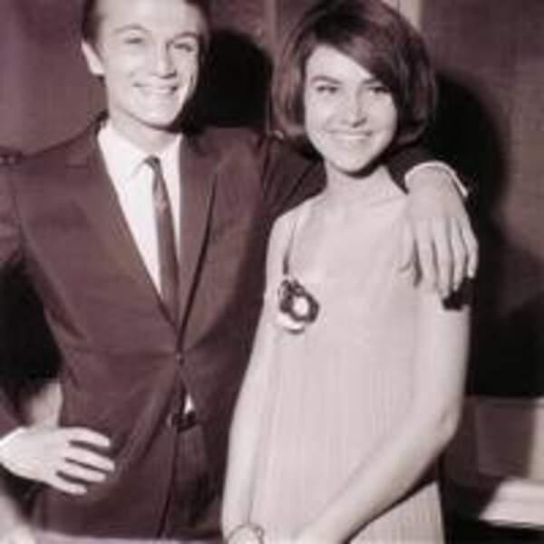 Claude François et Janet Woollacott
