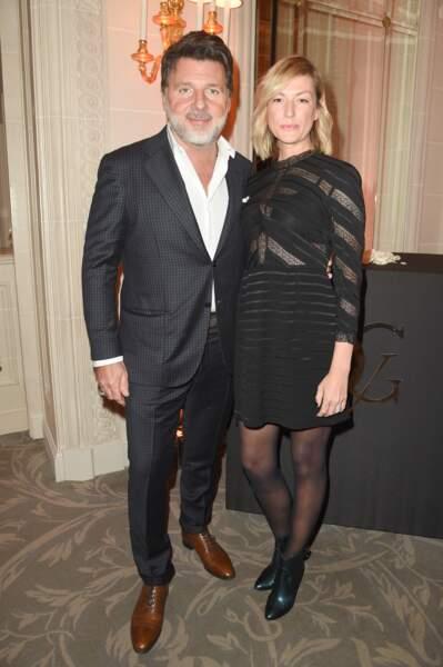 Philippe Lellouche s'est affiché aux bras de sa compagne Vanessa Boisjean ce lundi 11 mars à Paris