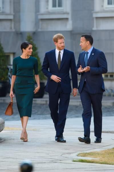 Meghan Markle et le prince Harry à Dublin le 10 juillet 2018