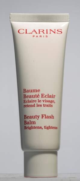Fanny Maurer aime le Baume beauté Eclair Clarins