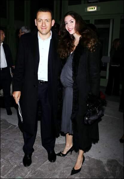 En 2007 Dany Boon et sa femme attendent leur deuxième enfant, Elia