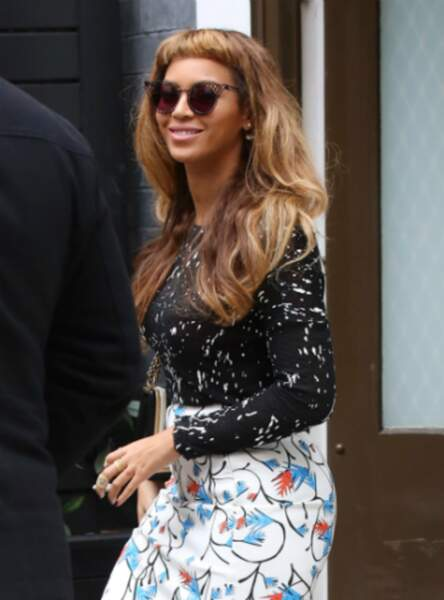 La frange ultra courte de Beyoncé
