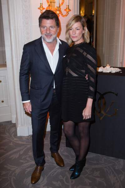 Philippe Lellouche et Vanessa Boisjean étaient présents au 3e gala caritatif des Stéthos d'Or 2019