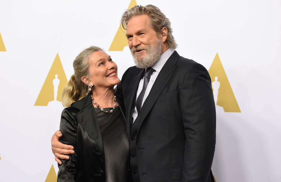 Jeff Bridges et son épouse, Susan Geston