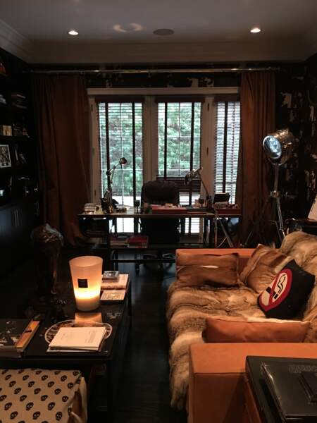 Le bureau de Johnny Hallyday à Los Angeles