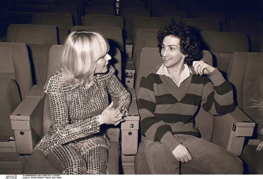 France Gall et Michel Berger le soir du spectacle de Starmania