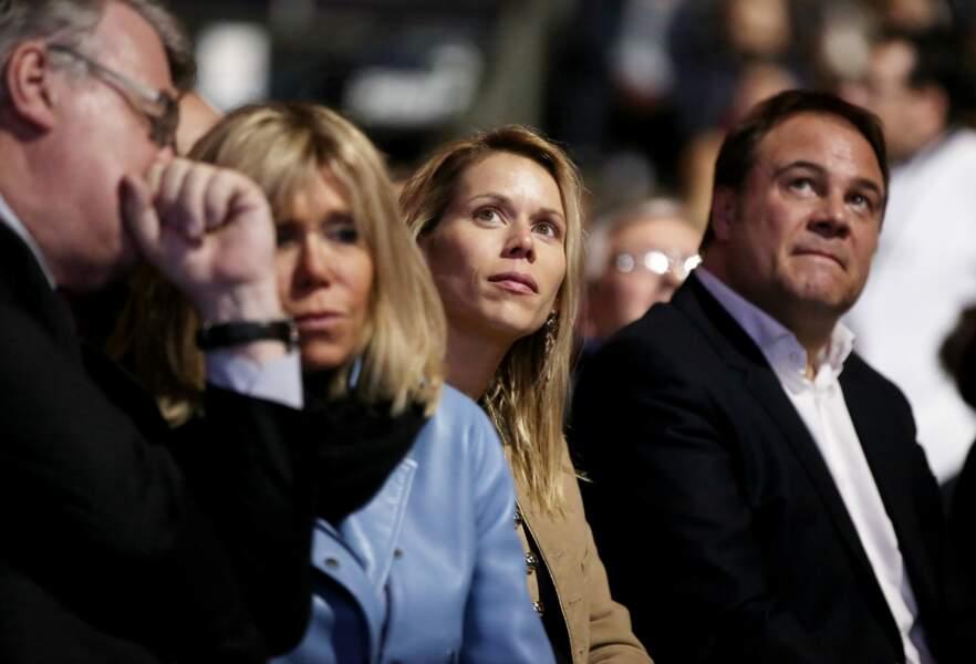 Un meeting en famille chez les Macron