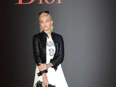 Paris Jackson au défilé Dior Homme