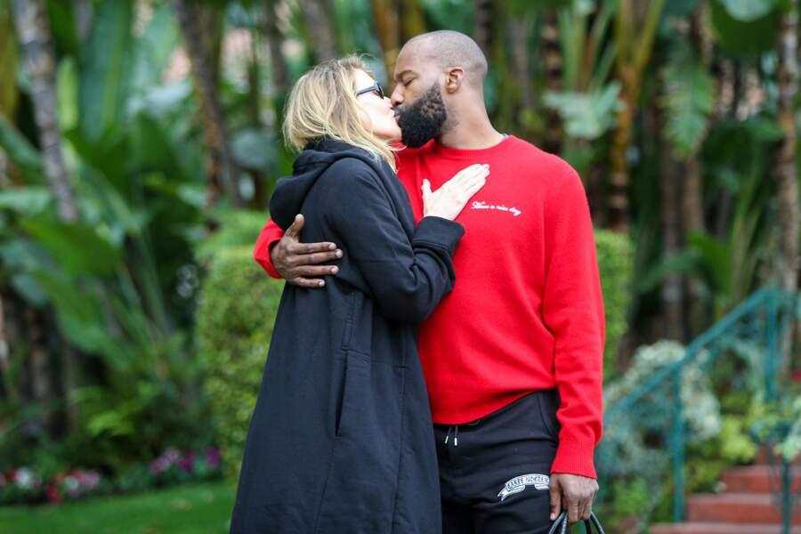 La comédienne Laura Dern 51 ans, file le parfait amour avec le joueur de basket Baron Davis (38 ans)