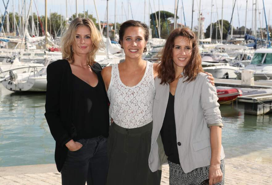 "Jeanne Bournaud, Julie de Bona et Olivia Bonamy pour le photocall du film ""Innocente""."