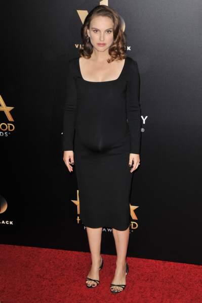 Natalie Portman sur le tapis rouge des Hollywood Film Awards
