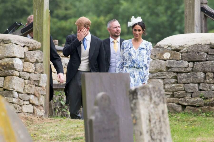 Meghan Markle a rencontré les cousins de son époux.