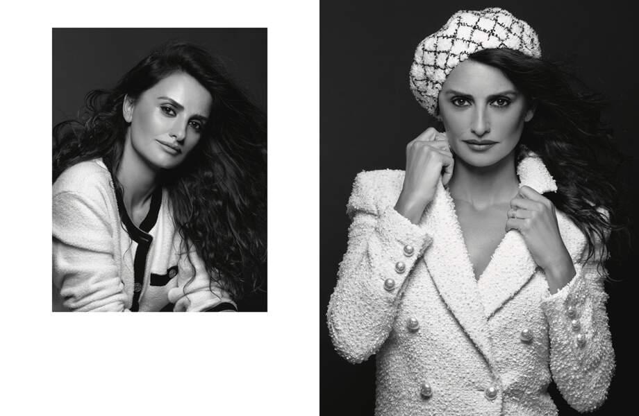 Penelope Cruz incarne une nouvelle image de Chanel pour la collection Croisière 2018/19.