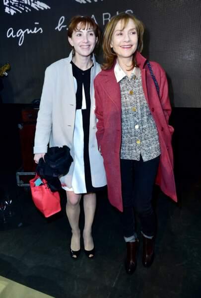Isabelle Huppert et sa fille Lolita Chammah