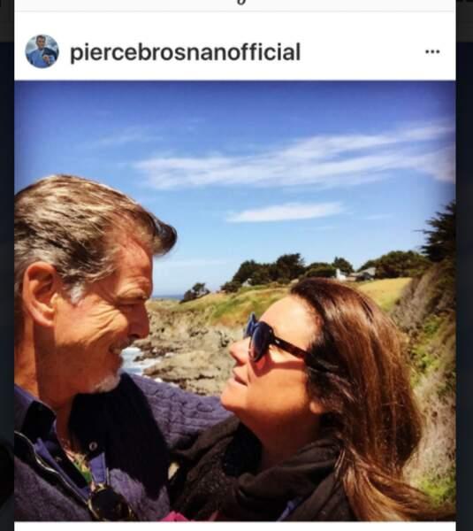 Pierce Brosnan et sa femme Keely