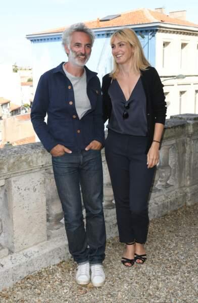 Julie Gayet était présente au festival du Film francophone d'Angoulême, ce mercredi 21 août
