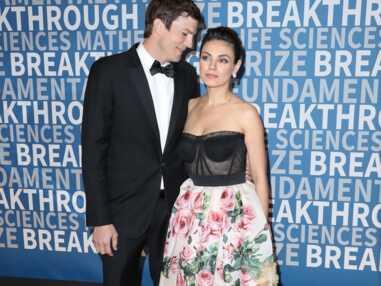 Ashton Kutcher et Mila Kunis très chics et amoureux à la 6ème cérémonie Breakthrough Prize le 3 décembre 2017