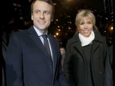 Emmanuel et Brigitte Macron, unis et tout sourire au dîner du CRIF