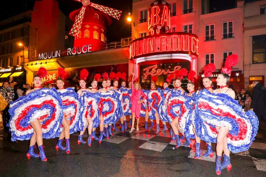 Céline Dion reine du Moulin Rouge
