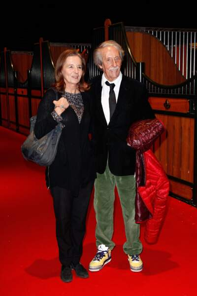 Jean Rochefort et sa deuxième épouse Françoise Vidal en 2013