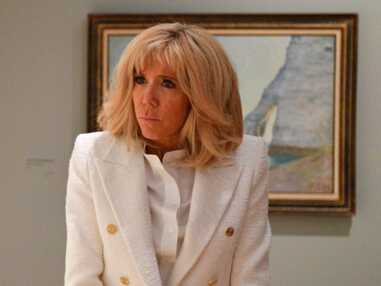 PHOTOS - Brigitte Macron rayonnante à Giverny avec un nouveau carré blond
