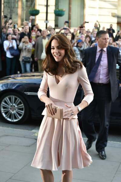 "Kate Middleton à l'exposition ""Vogue 100: A Century of Style"" le 4 Mai 2016"
