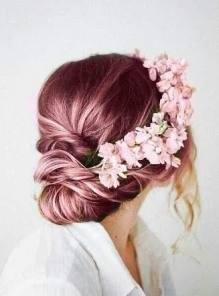 La couronne de fleurs à dégainer pour un événement