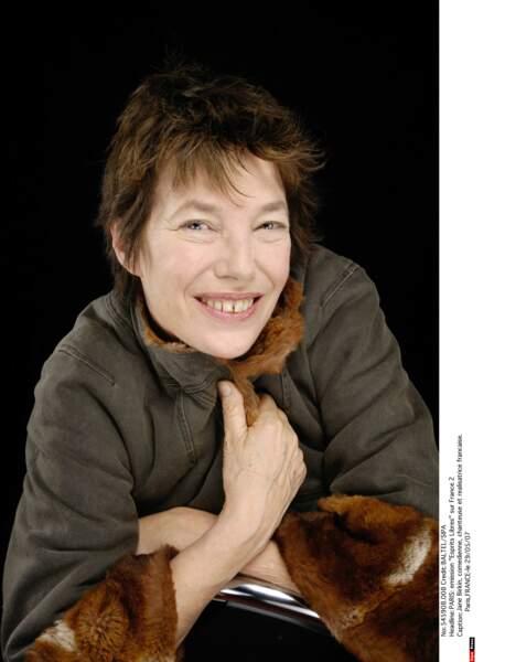 Jane Birkin en 2007