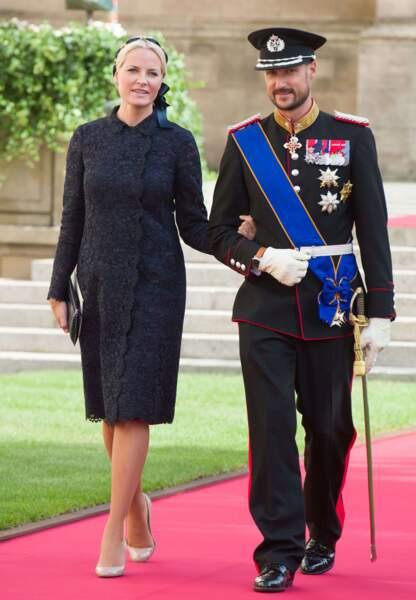 Mette-Marit et le prince Haakon