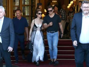 Céline Dion, sexy en robe Dior