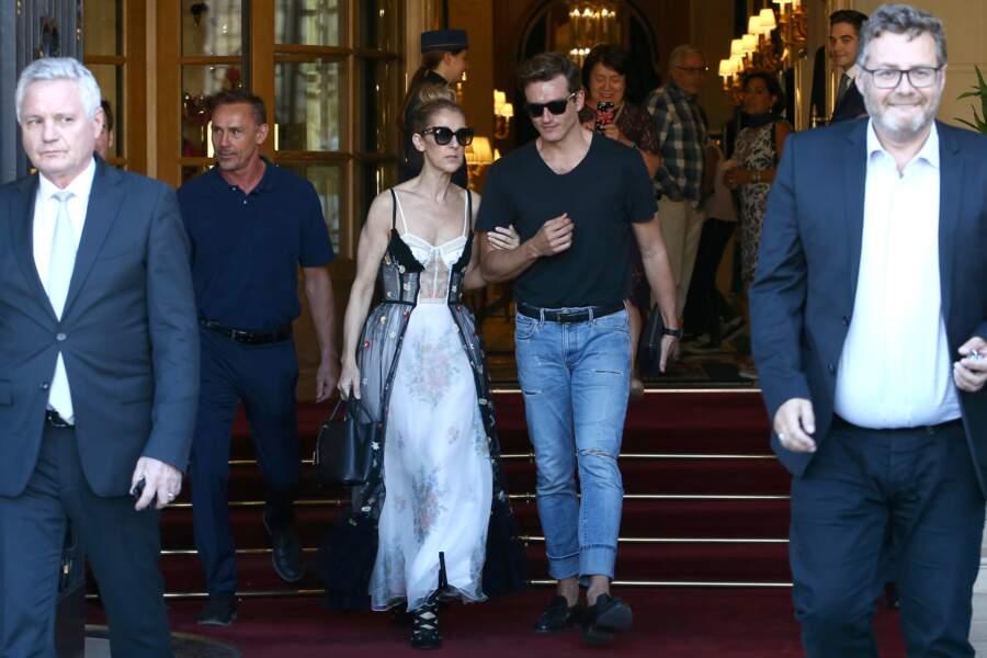 Céline Dion est de retour à Paris