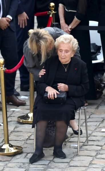 Bernadette Chirac affaiblie a été hospitalisée en 2016