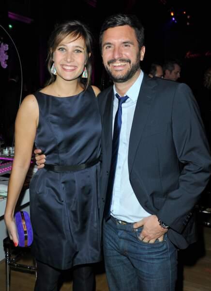 Julie de Bona et son compagnon Alexandre en janvier 2013.