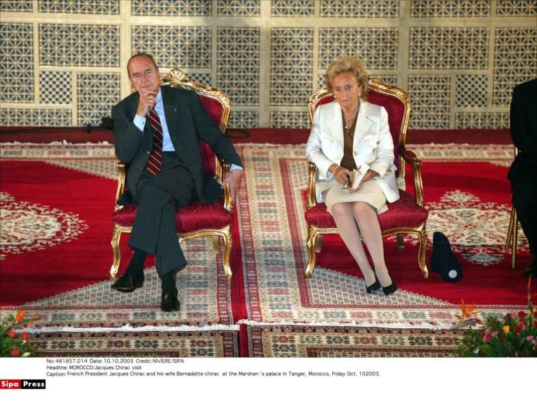 Bernadette Chirac en 2003