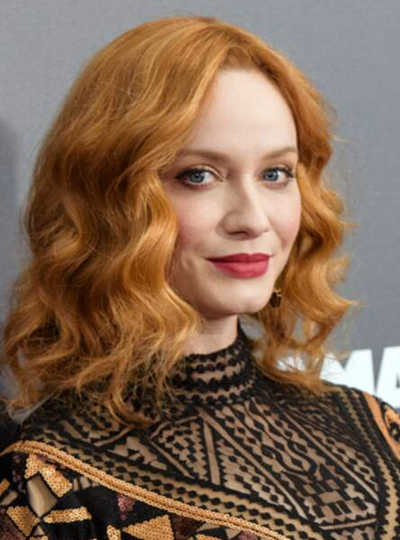 Le roux clair de Christina Hendricks