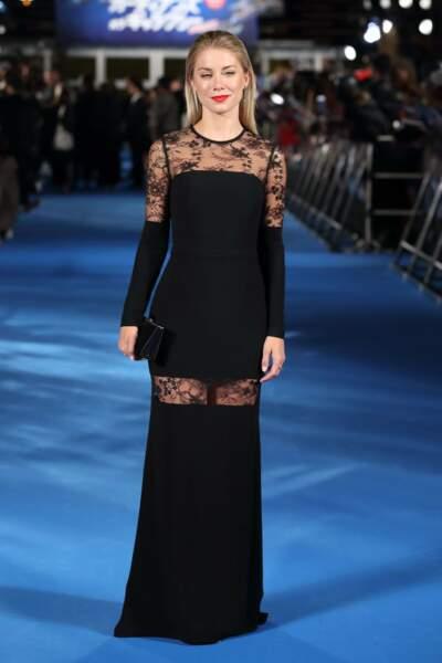 Jennifer Holland pour la sortie du deuxième film des Gardiens de la galaxie au Japon