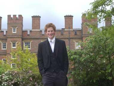 PHOTOS - Retour dans la vie du Prince Harry au collège d'Eton en 2003