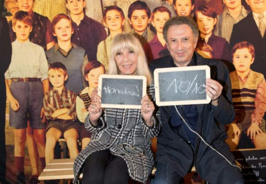 Michel Drucker et sa femme Dany Saval