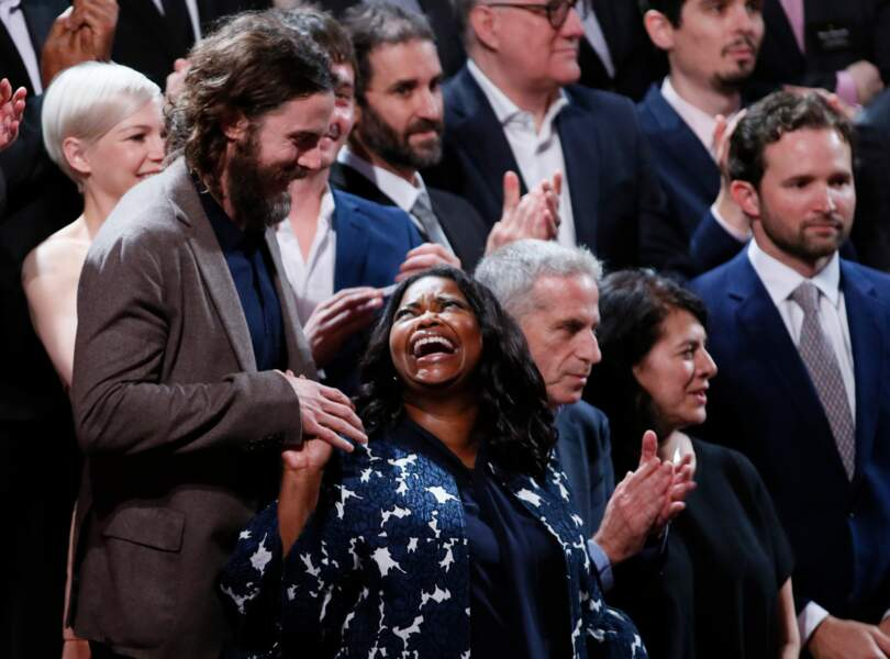 Casey Affleck et Octavia Spencer