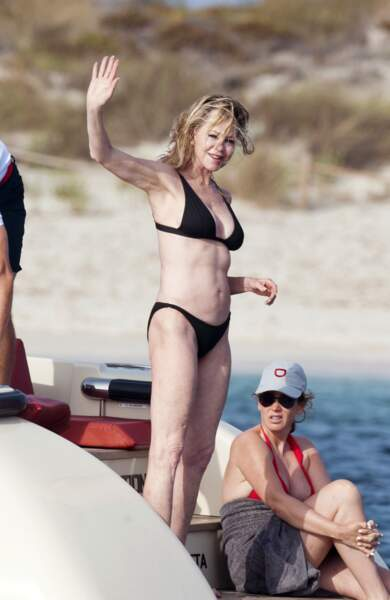 L'actrice Melanie Griffith s'assume en bikini