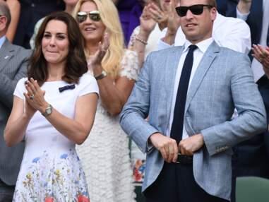 Kate Middleton et le prince William à Wimbledon