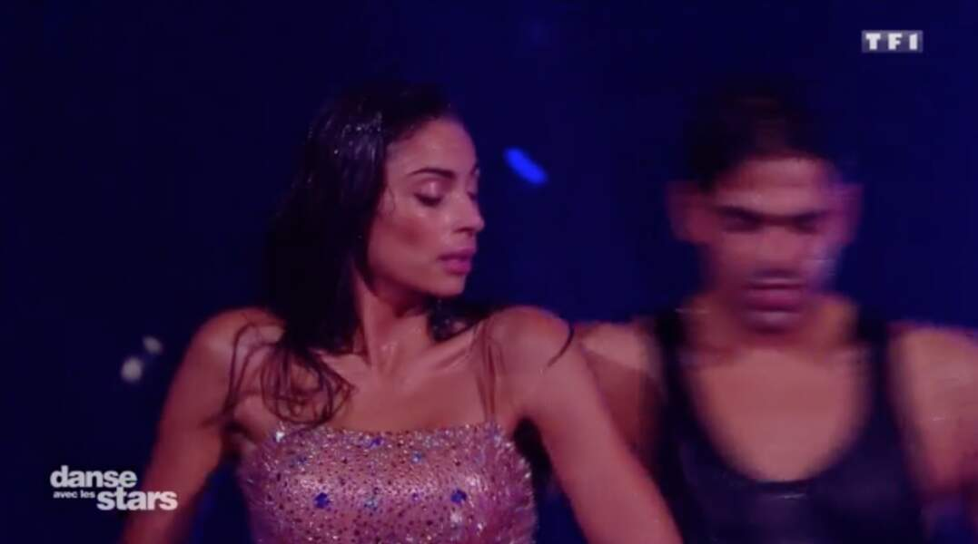 Tatiana Silva et Christophe Licata dans Danse avec les stars le 2 novembre 2017