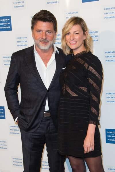 Philippe Lellouche et Vanessa Boisjean ont opté pour un look chic lors de cette soirée
